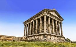 Garni寺庙-一个异教的寺庙在亚美尼亚 库存图片