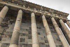 Garni,亚美尼亚- 2017年9月16日:Garni异教的寺庙, tem 库存照片