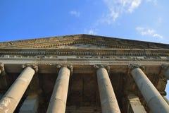 Garni świątynia w Armenia obraz stock