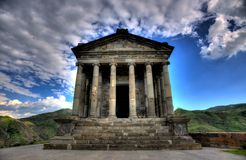 Garni寺庙,亚美尼亚 免版税库存图片