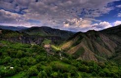Garni, Armenia. Canyon near the Garni temple Stock Images