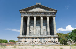 Garni - Armenia. The Greek temple at Garni - Armenia Royalty Free Stock Photography