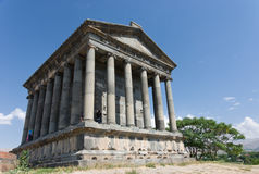 Garni - Armenia. The Greek temple at Garni - Armenia Stock Images