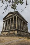 Garni, ARMENIA - September 16, 2017: Garni Pagan Temple, the tem. Garni, ARMENIA - September 16, 2017:Ancient Garni pagan Temple the hellenistic temple in Royalty Free Stock Image