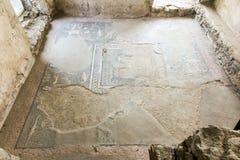 Garni ARMENIA, Wrzesień, - 16, 2017: Ruiny poprzedni bathhouse Obraz Royalty Free