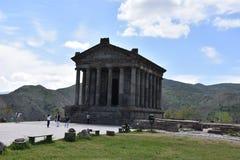 Garni Heidense Tempel in Armenië Royalty-vrije Stock Afbeelding