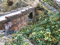 Garni klyfta, Armenien Royaltyfri Foto
