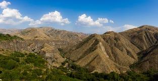 Garni Mountains. Mountains in Armenia, near to Garni Temple Royalty Free Stock Image