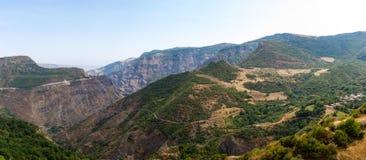 Garni Mountains. Mountains in Armenia, near to Garni Temple Stock Images