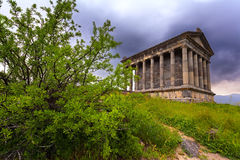 Garni Pagan Temple Stock Photos