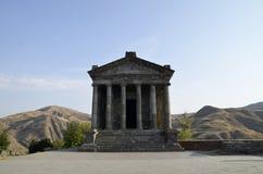 Garni tempel arkivfoto