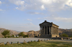Garni tempel arkivbild