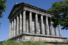 Garni Temple Stock Photo
