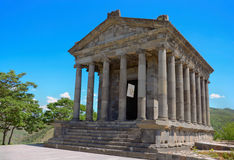 Garni temple. Ancient Garni temple complex. Armenia Royalty Free Stock Photography