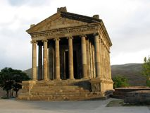 Garni temple. Hellenistic style Garni temple, 1-st century ,Armenia Stock Photos
