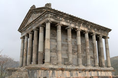 Garni temple. The fortress of Garni located in Armenia Stock Images