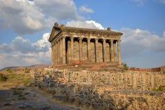 The Garni Temple in Armenia stock photos