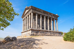 Garni Temple, Armenia. The Garni Temple is a classical Hellenistic temple in Garni in Armenia royalty free stock photo