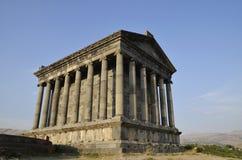 Garni temple, Armenia. An old temple in Armenia Stock Photo