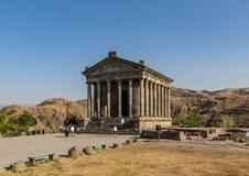 Temple of Garni, Armenia royalty free stock image