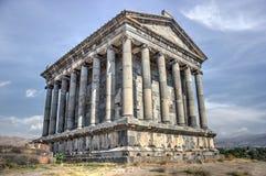 Garni temple. Hellenistic temple in Garni, Armenia Royalty Free Stock Photos