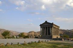 Garni temple. Old antique temple in Armenia Stock Photography