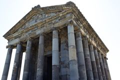Garni Temple. A Roman ruin, Armenia royalty free stock photos