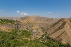 Garni wąwóz, Armenia zdjęcia royalty free