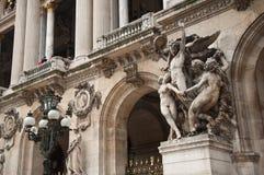 Garnier opera of Paris stock photos