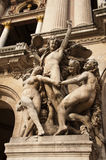 Garnier opera of Paris Royalty Free Stock Photos