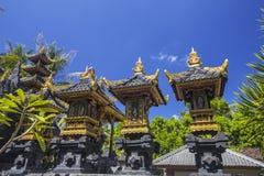 Garnirunek w hinduskiej świątyni, Nusa Penida, Indonezja fotografia stock