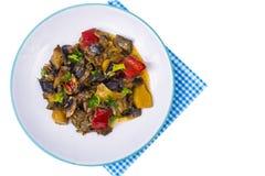 Garnish of different vegetables Stock Images