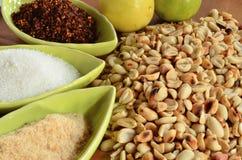 Garnish thai Stock Photo