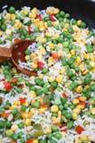 Garnish of vegetables Royalty Free Stock Photo