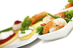 Garnished appetizer Stock Photography