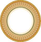 Garnished pattern Stock Image