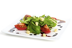 Garnished salad Stock Photos