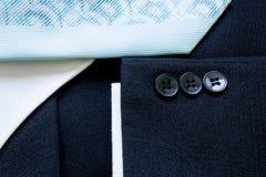 Garniturów guziki Zdjęcie Stock