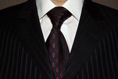 garnitur, krawat Obrazy Royalty Free
