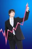 garnitur krawat biznesmena Zdjęcie Stock