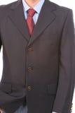 garnitur w krawat fotografia royalty free