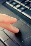 Garniture de contact de plan rapproché avec des doigts Photographie stock
