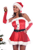 Garniture de l'arbre de Noël Photo stock