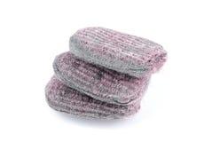 Garniture de savon de laines en acier image stock