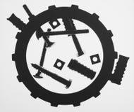 Garniture et boulons Photographie stock libre de droits