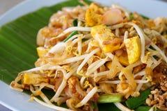 Garniture thaïe nourriture d'Asiatique de signature photos libres de droits