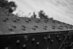 Garnitures de fer Photographie stock
