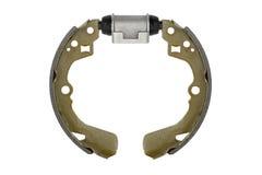 Garnitures de frein neuves et tambour de frein de cylindre (d'isolement) Photo libre de droits
