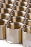Garnitures de pipe filetées Image stock