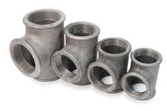 Garnitures de té en métal Image libre de droits